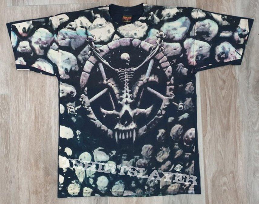 Slayer - Divine Intervention allover shirt