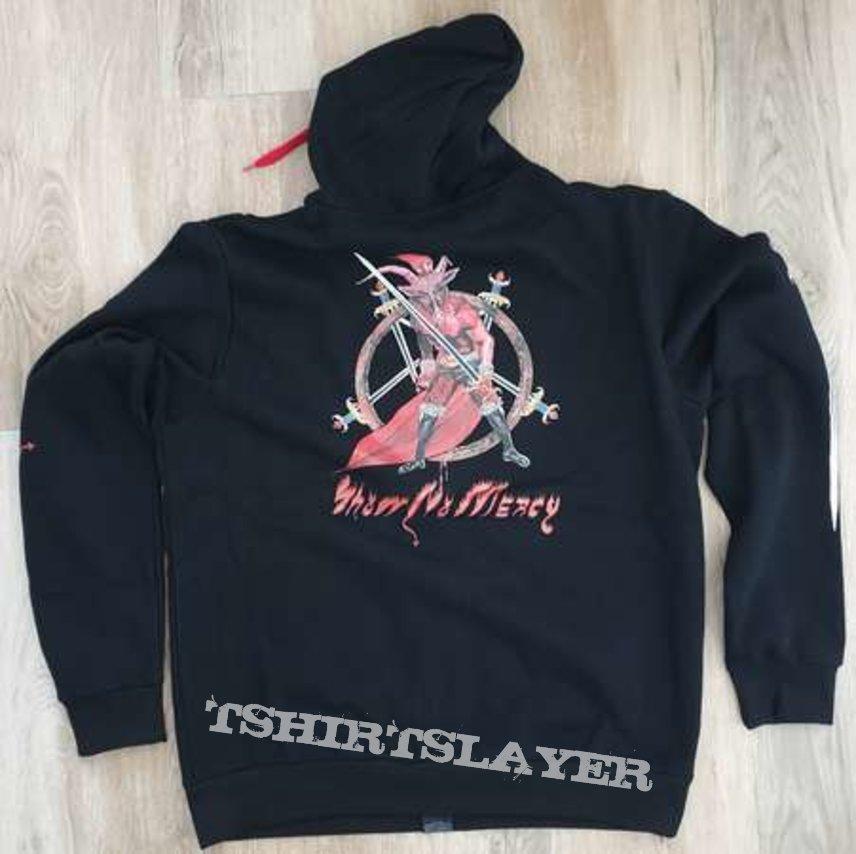 Slayer - Show no mercy zip hoodie