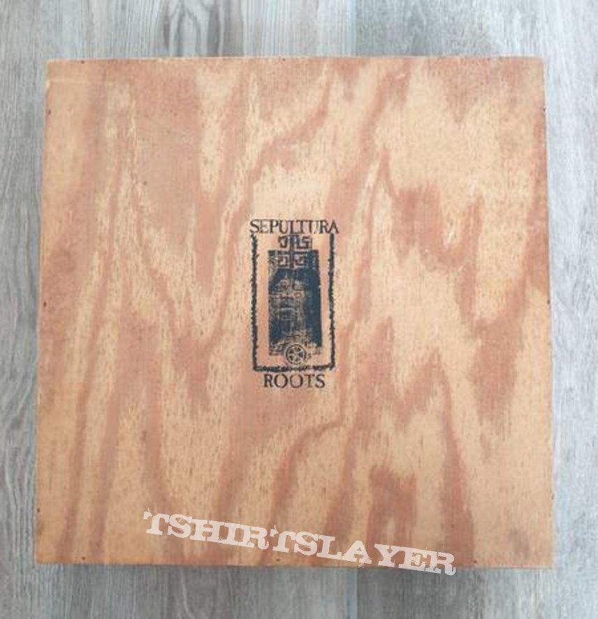Sepultura - Roots wooden promo box