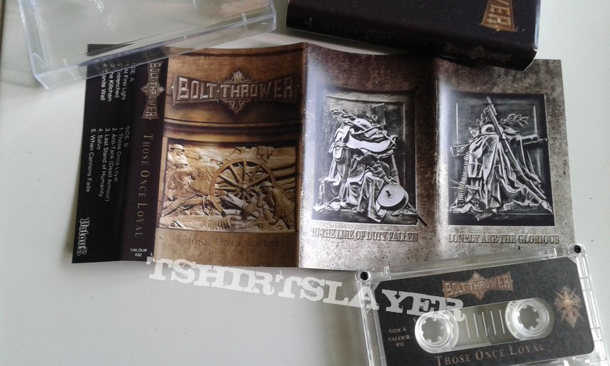 Bolt Thrower - Those Once Loyal tape