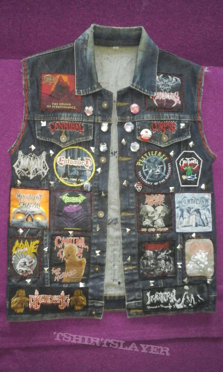 Death Metal Vest finished for a while