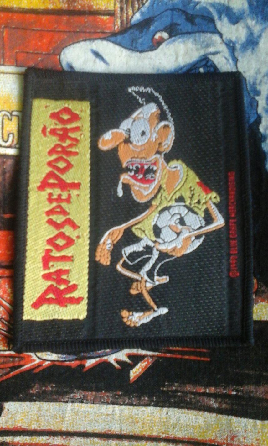 Ratos De Porão - Brasil original vintage woven patch