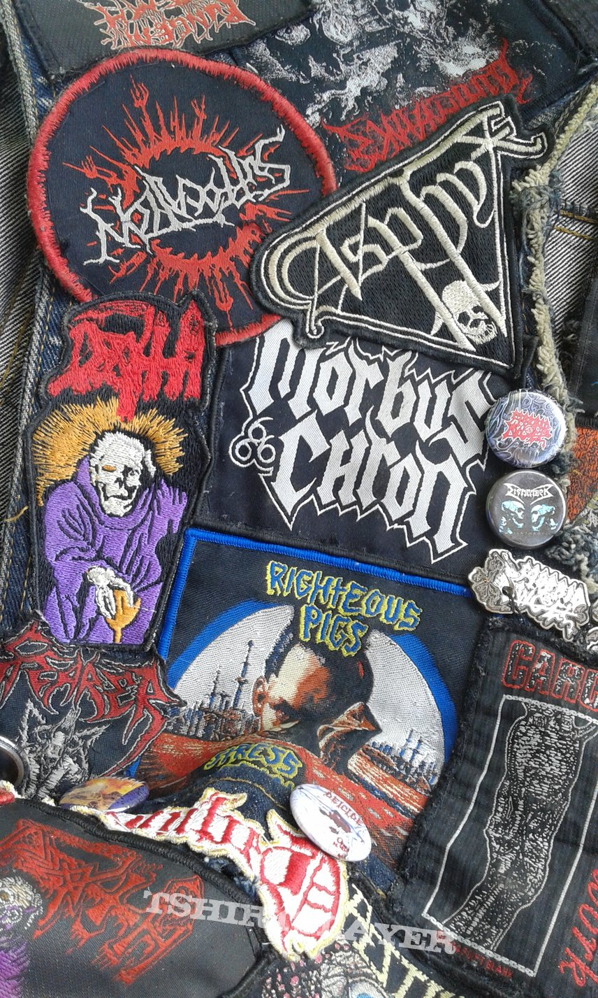 Death Metal vest update #3