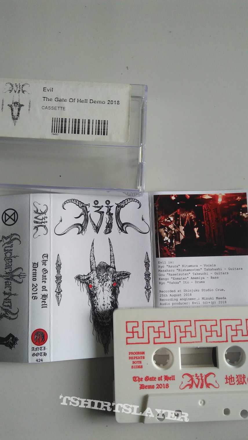 Evil (Japan) - The Gate Of Hell demo 2018