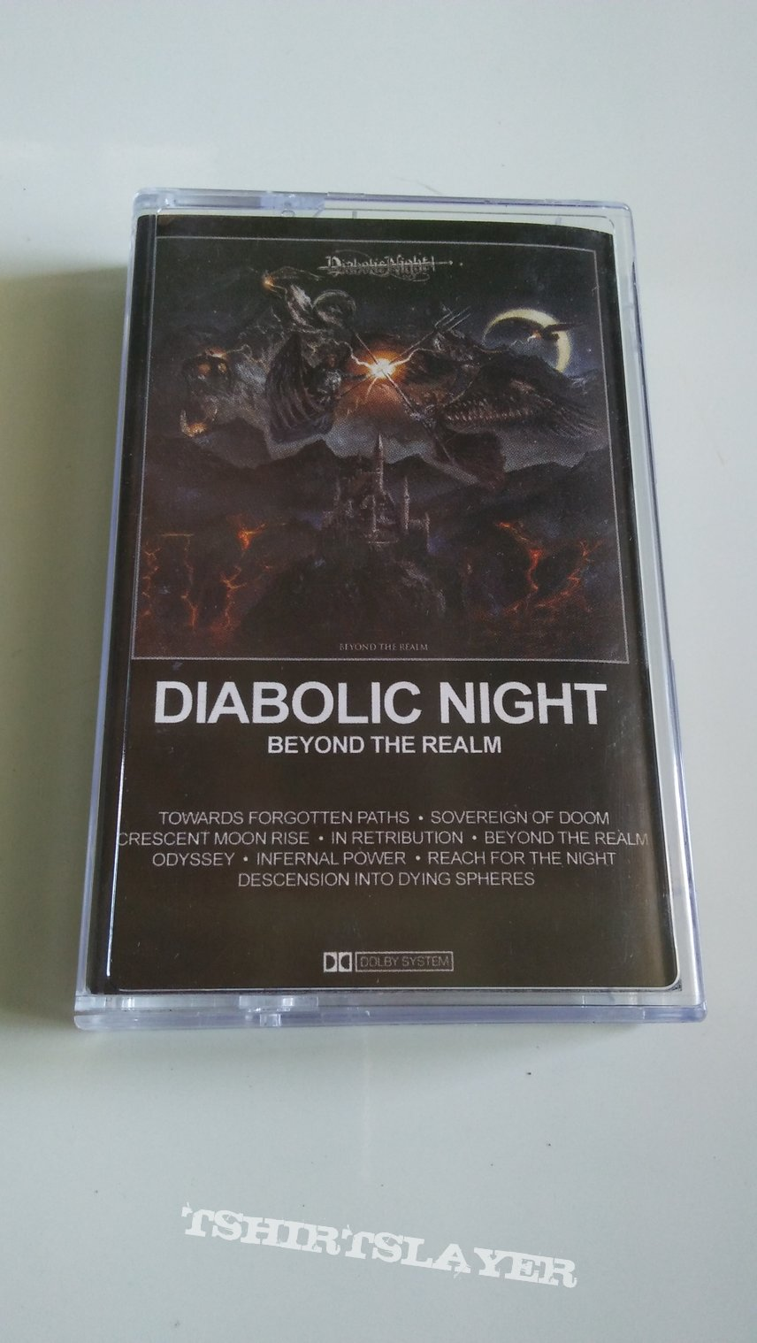 Diabolic Night - Beyond The Realm tape