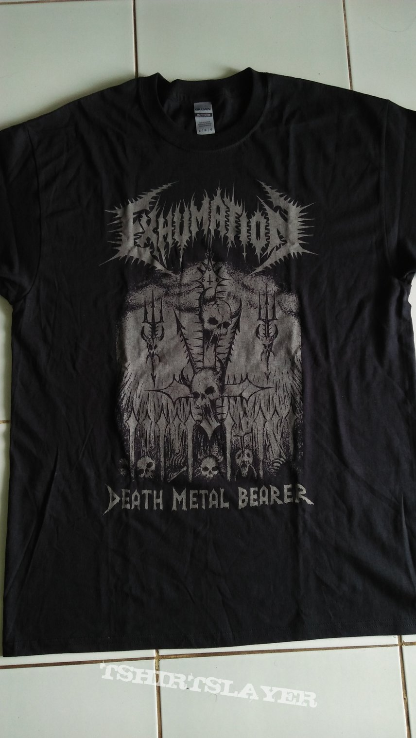 Exhumation - Death Metal Bearer shirt