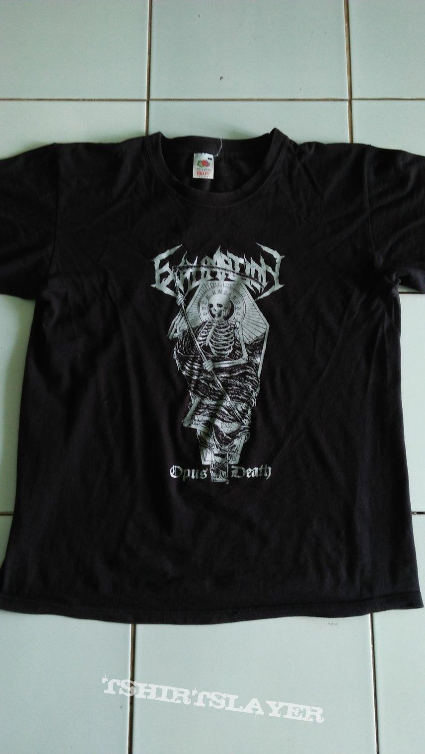 Exhumation - Opus Death tour shirt
