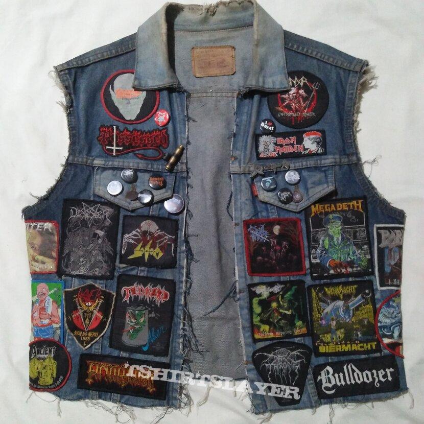 80s style vest