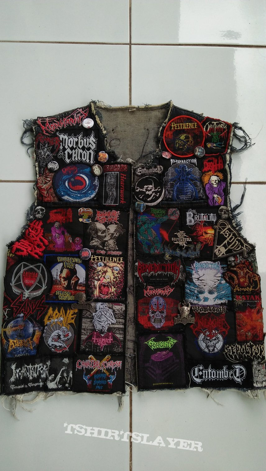 First update to my death metal vest in 2020