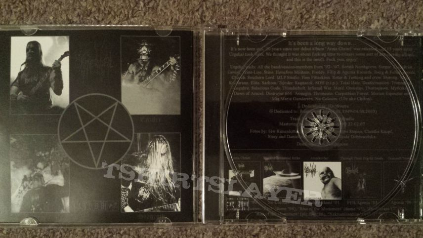 URGEHAL - The Eternal Eclipse - 15 Years of Satanic Black Metal