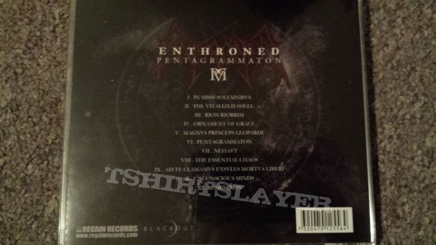 ENTHRONED - Pentagrammaton