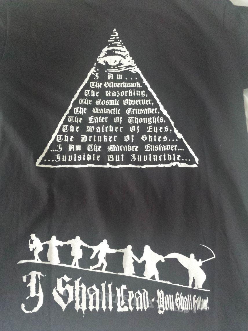 Silencer - I Shall Lead, You Shall Follow t-shirt