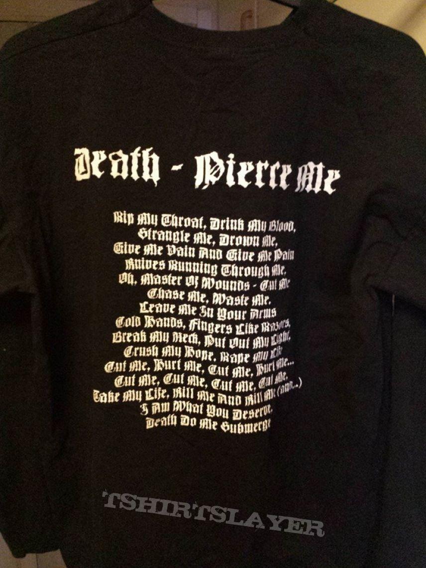 Silencer - Death - Pierce Me longsleeve
