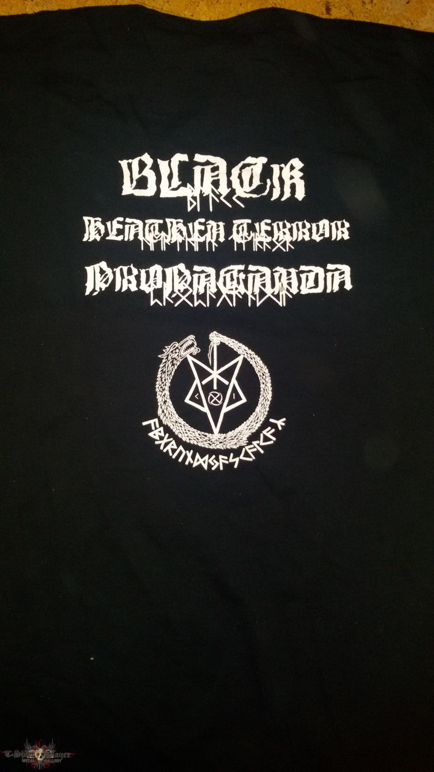 "Sons of Fenris - ""Black Heathen Terror Propaganda"" Shirt"