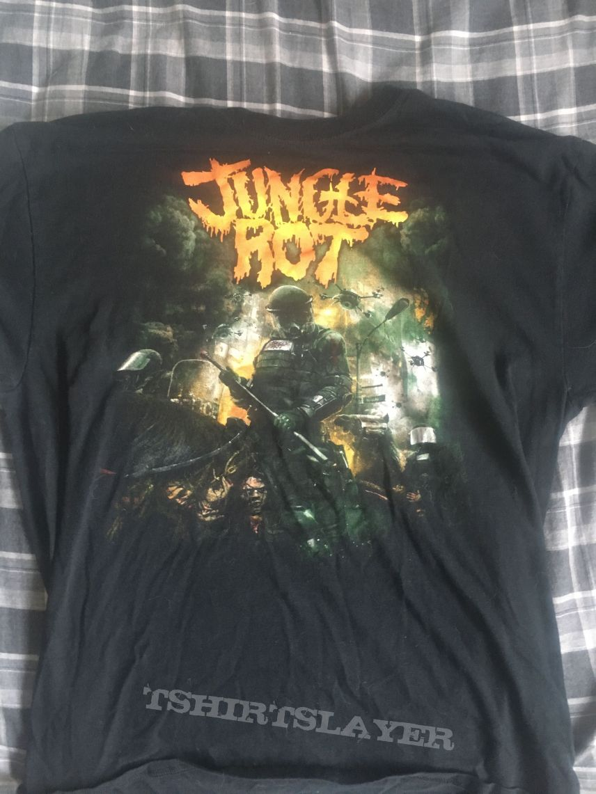 Jungle Rot Order Shall Prevail L shirt