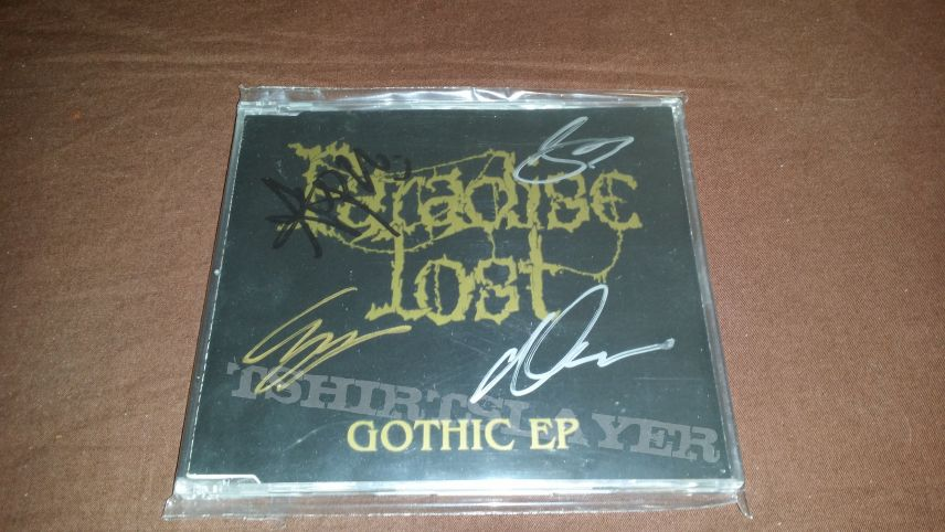 Paradise Lost-Gothic EP Signed