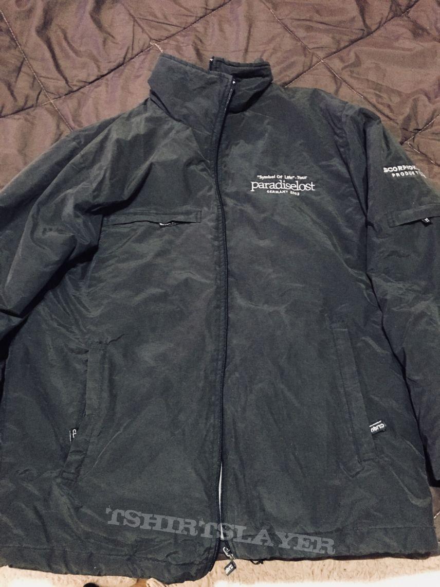 Paradise Lost Symbol Of Life Tour 2003 Crew Jacket Tshirtslayer