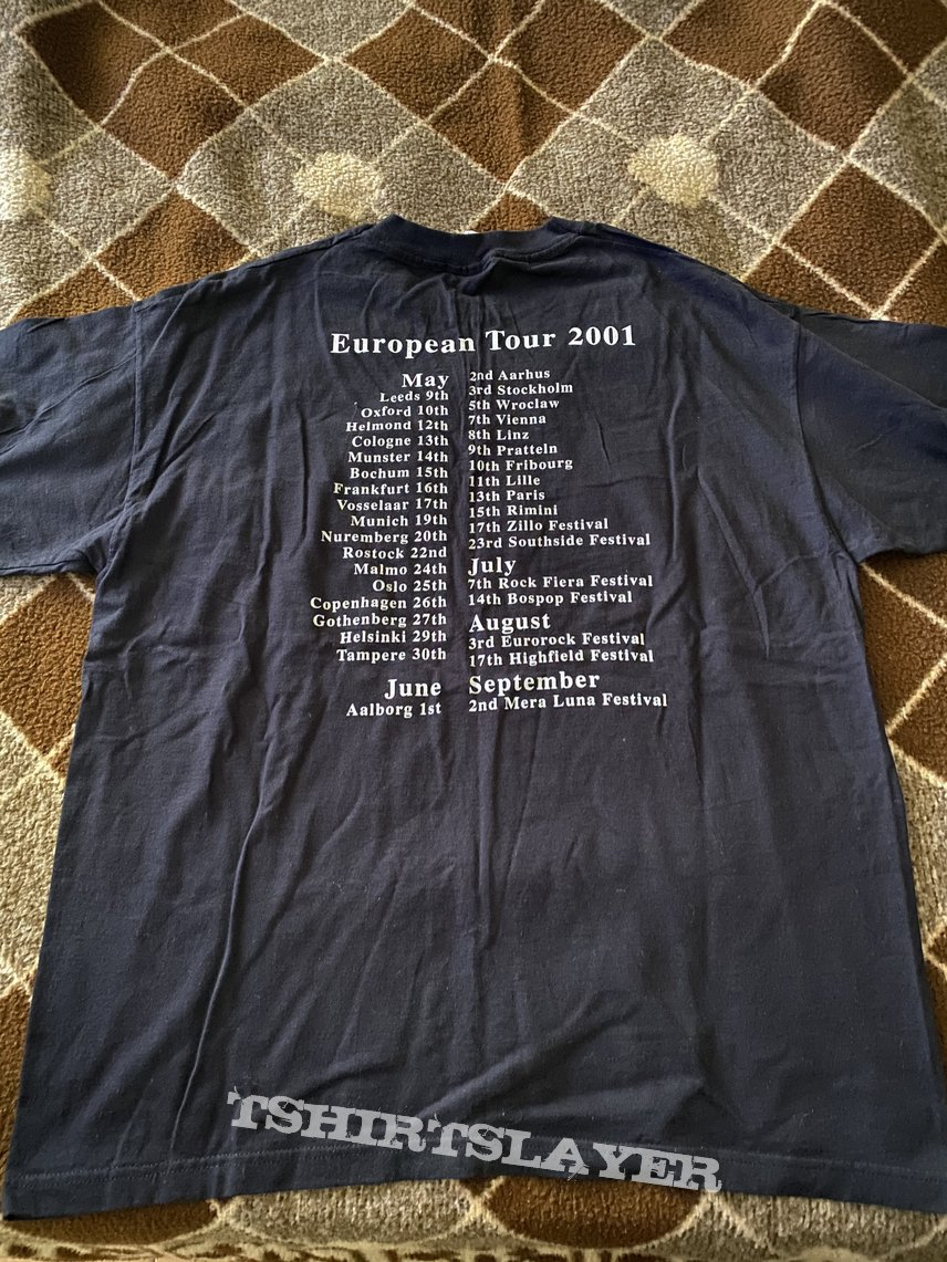 Paradise Lost-Believe in Nothing European Tour 2001