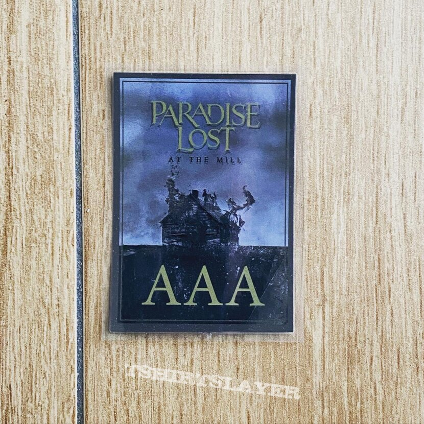 Paradise Lost-At the Mill digibook