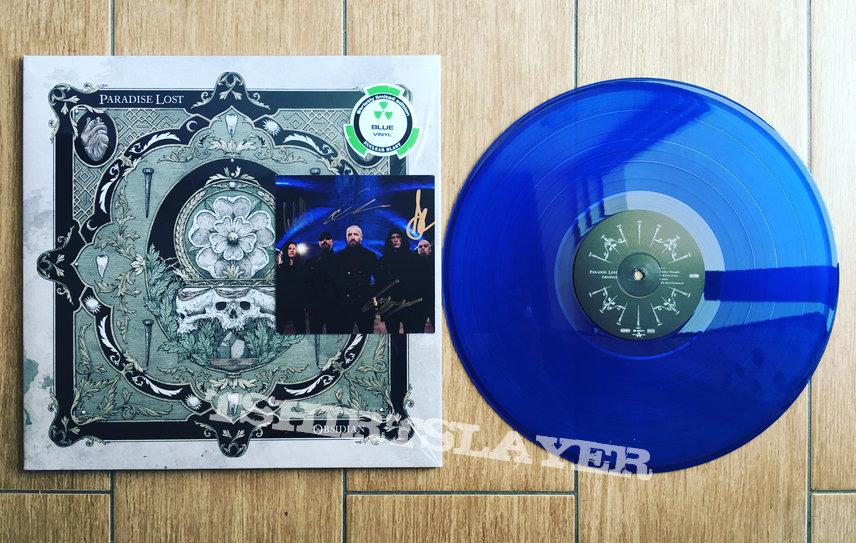 Paradise Lost-Obsidian(Blue Vinyl)