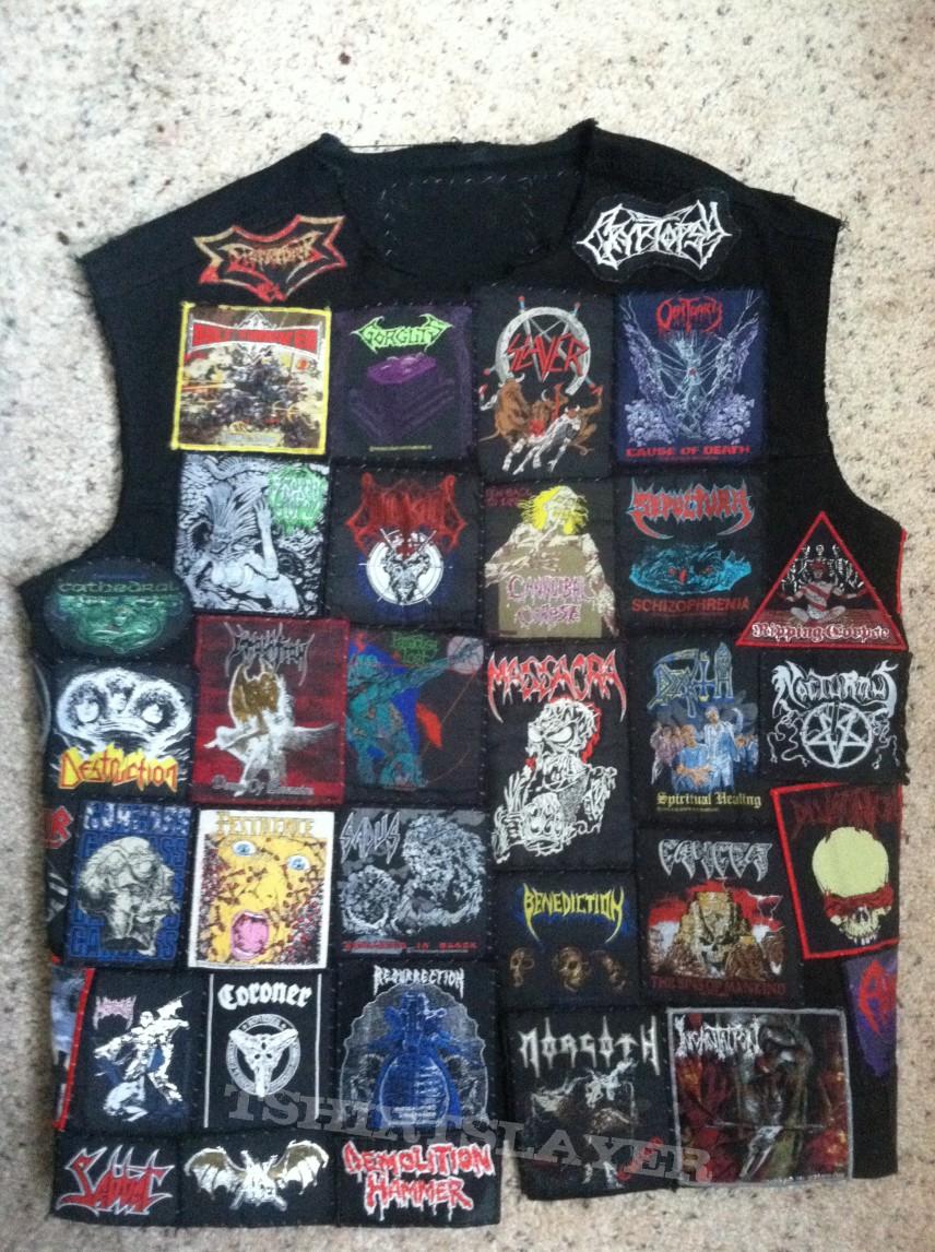 Death Metal emphasized battle jacket