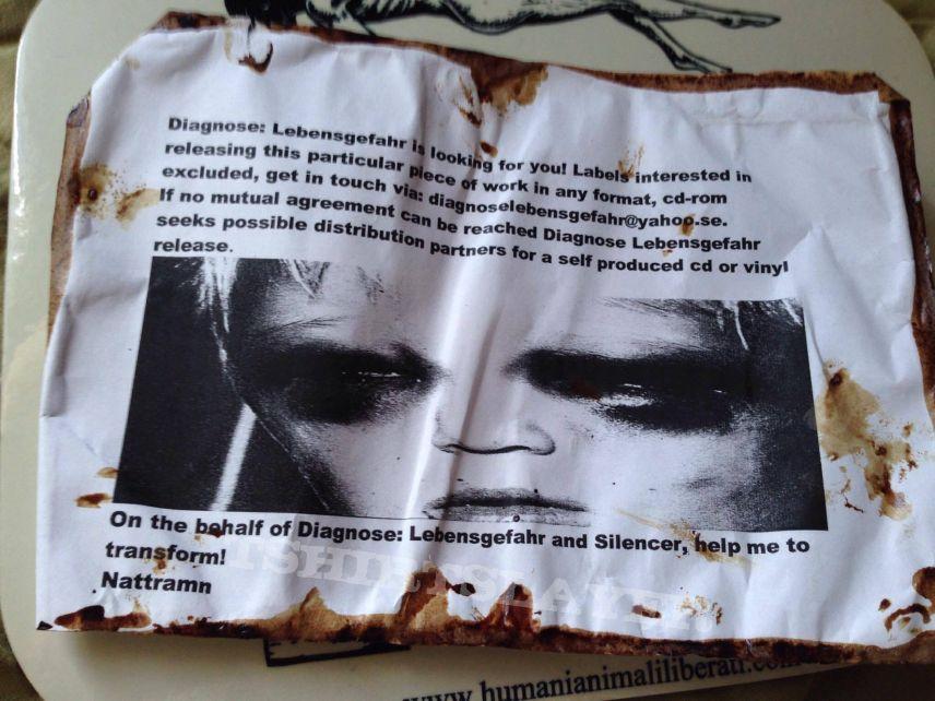 Diagnose lebensgefahr - Promo Paper