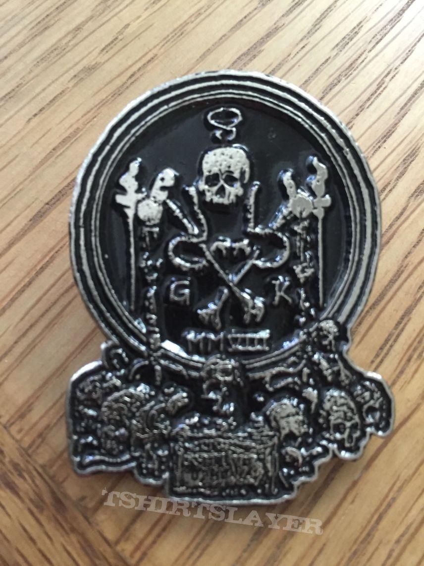 Grave Upheaval Symbol Pin