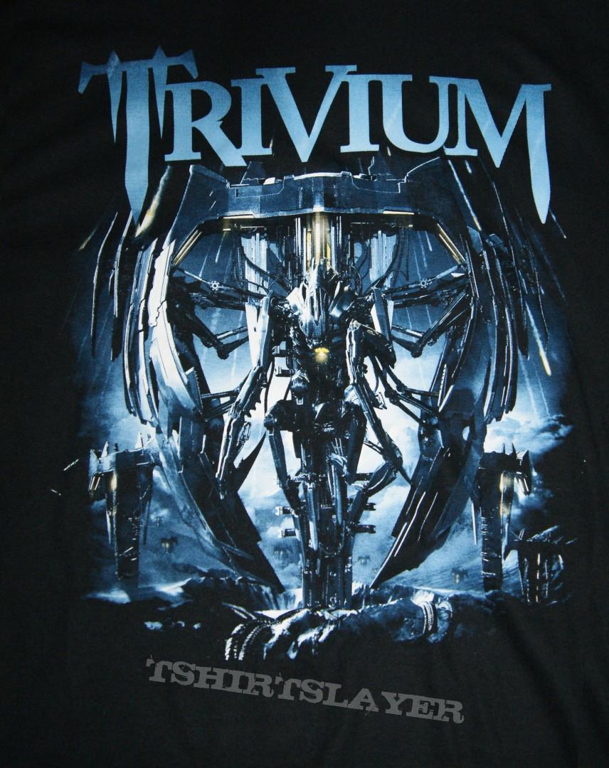 Design t shirt europe - Trivium Vengeance Falls Across Europe Tour Shirt