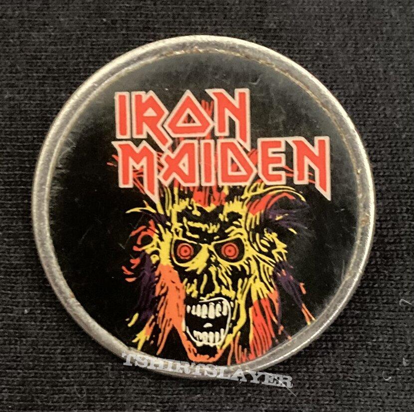 Iron Maiden metal pin badge