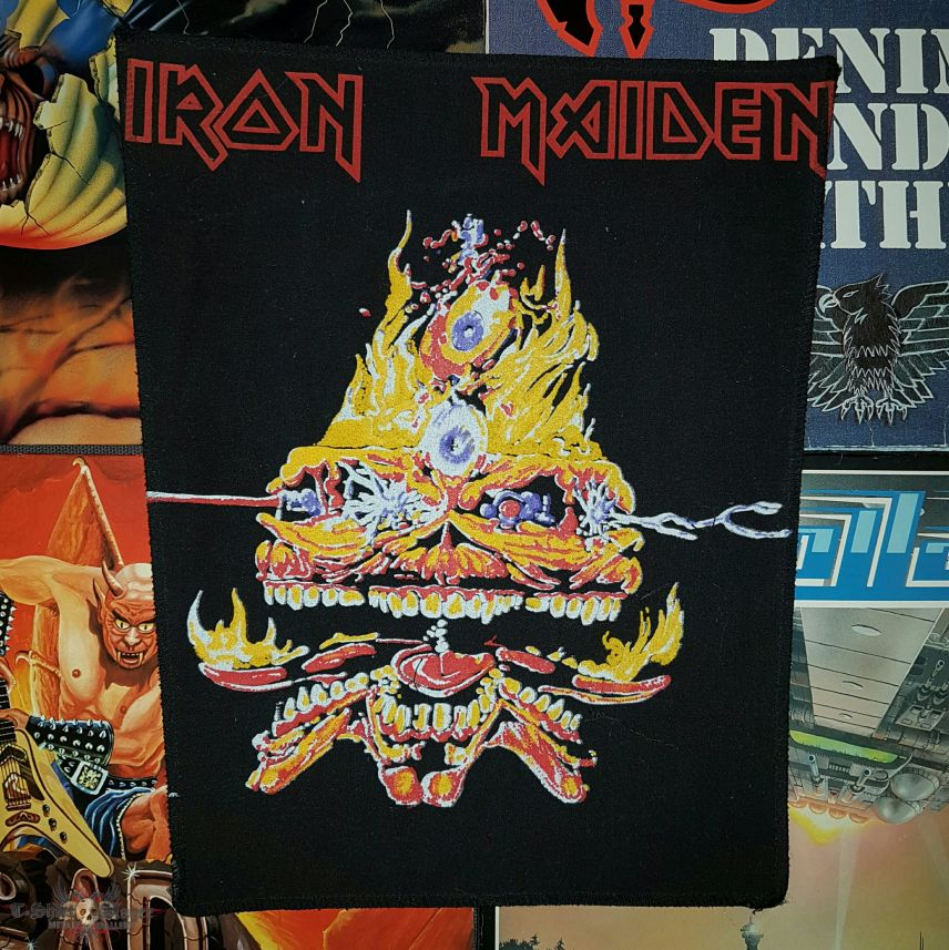 Iron Maiden - Clairvoyant Backpatch
