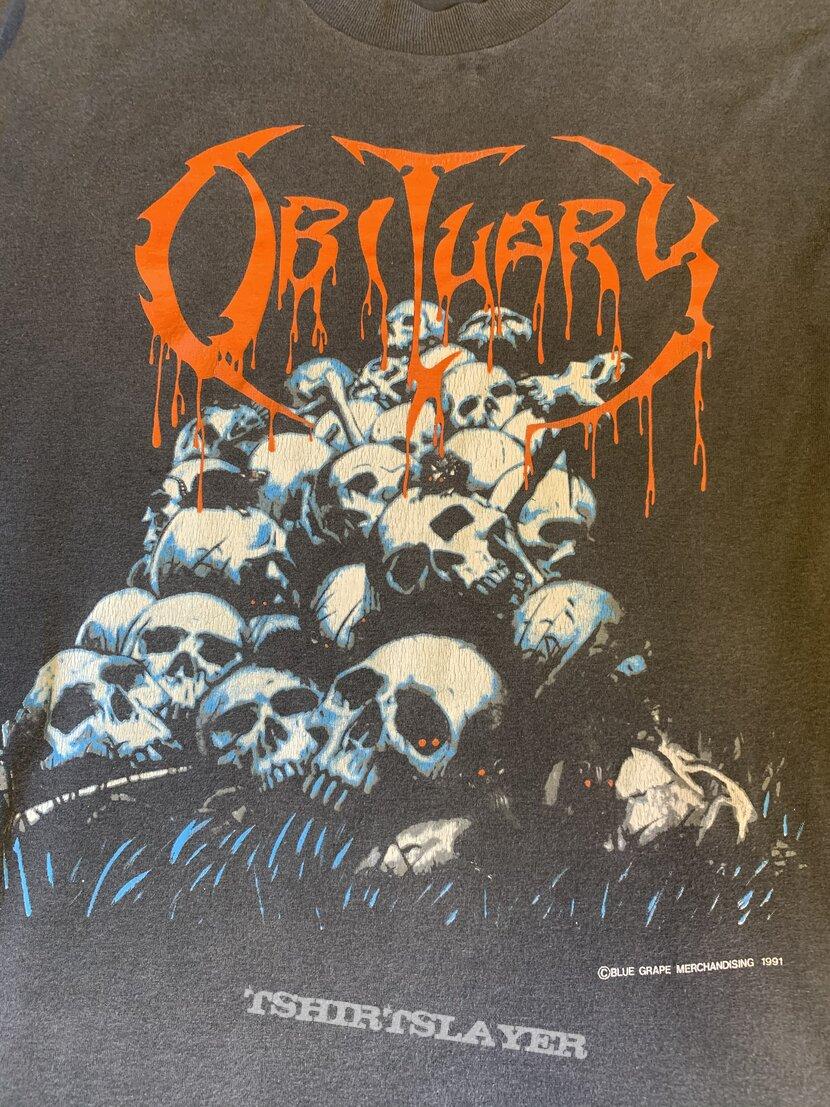 Obituary Pile Of Skulls LS