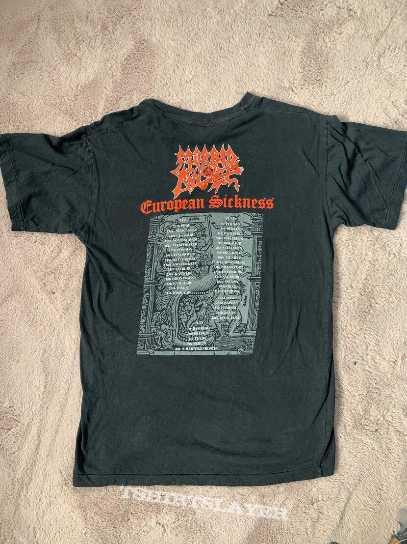 Morbid Angel European Sickness Tour Shirt