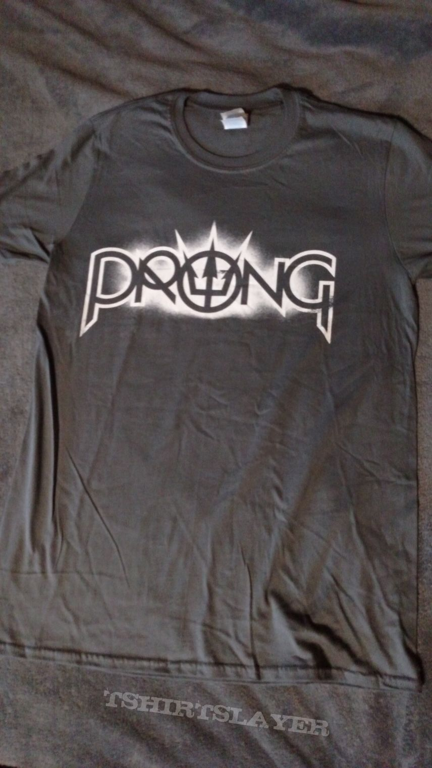 Prong - Gray Logo T-Shirt