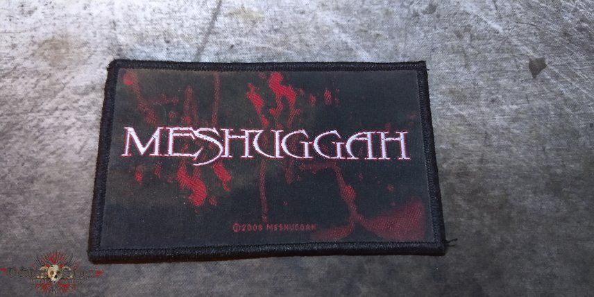 Meshuggah - Blood Stain [Patch]