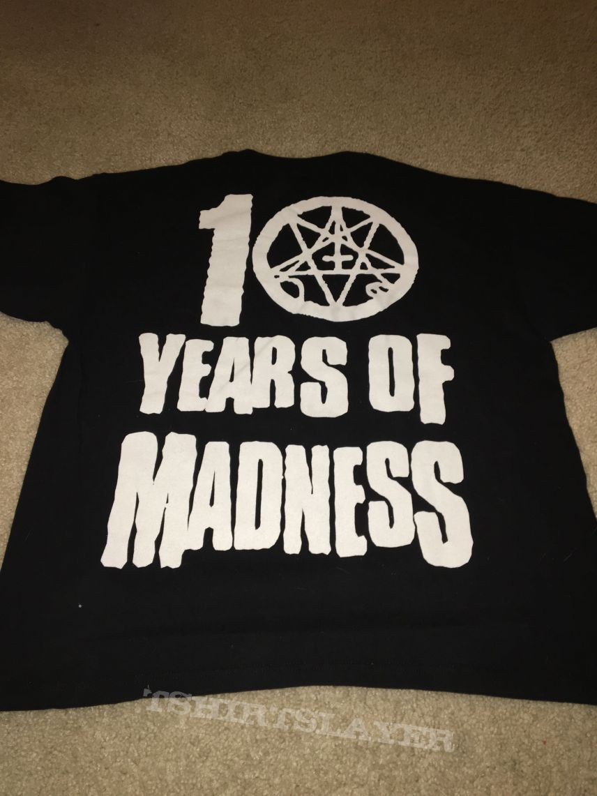 MORBID ANGEL Altars Of Madness / 10 Years Of Madness T-Shirt