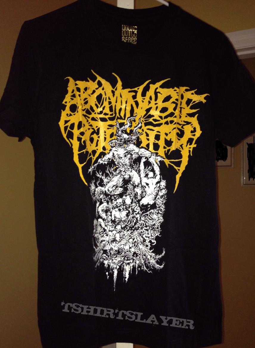 Abominable Putridity shirt