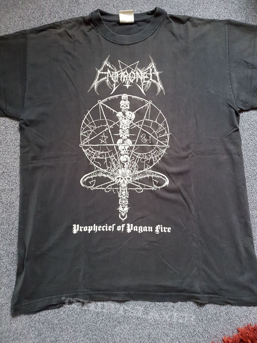 Enthroned-Prophecies of Pagan Fire Shirt