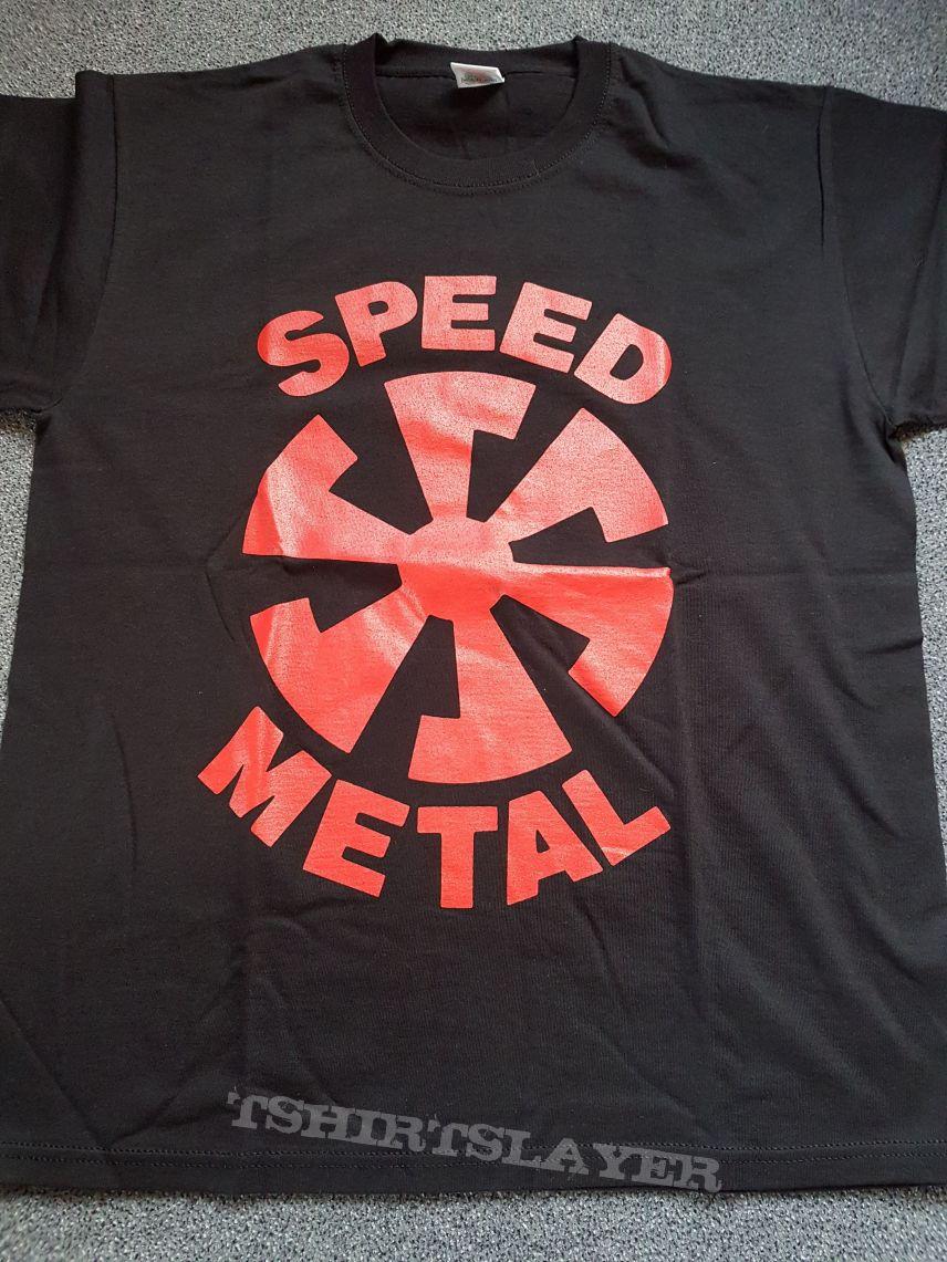 Speed Metal Logo Shirt Size L