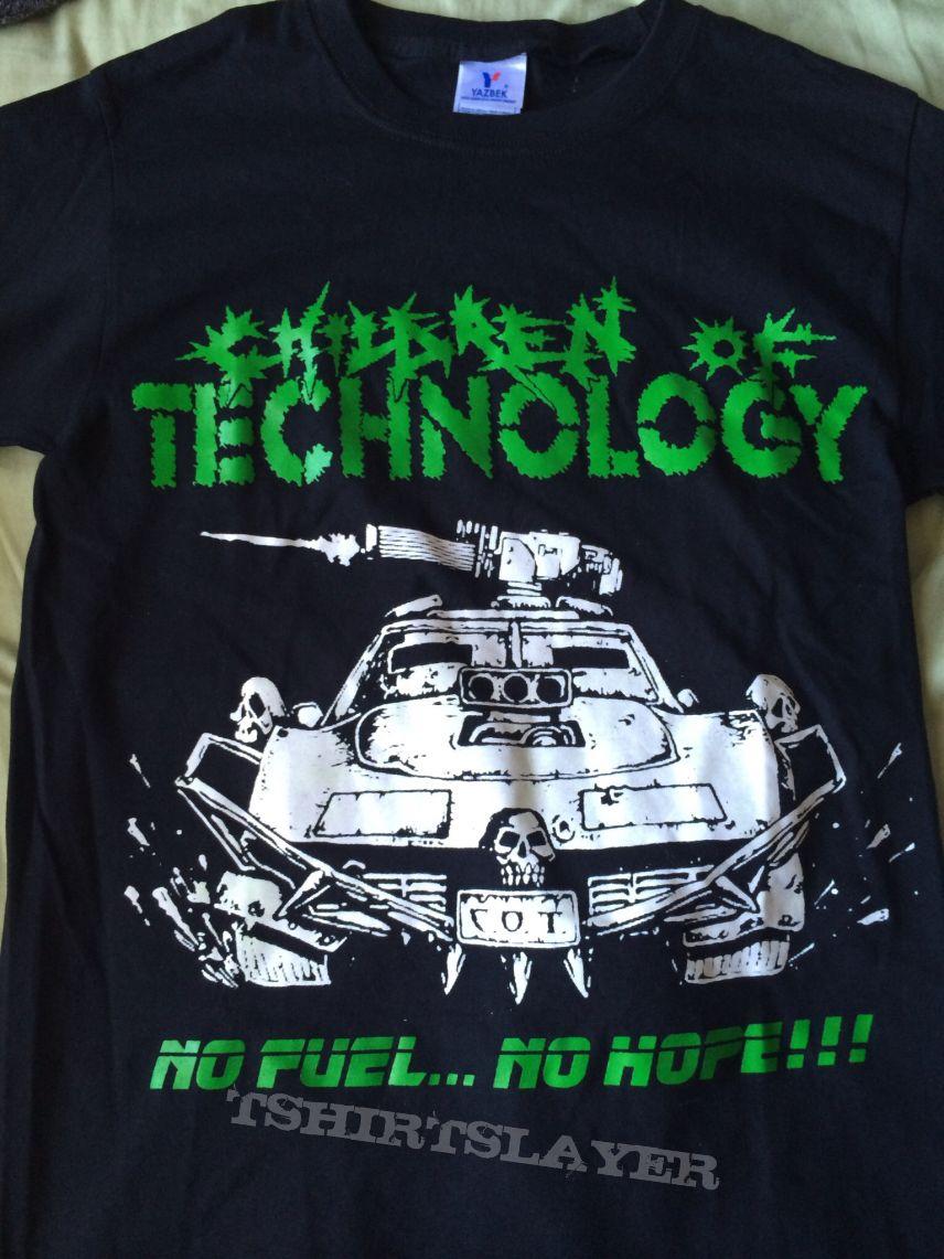 "Children of technology ""No Fuel... No Hope"" shirt"