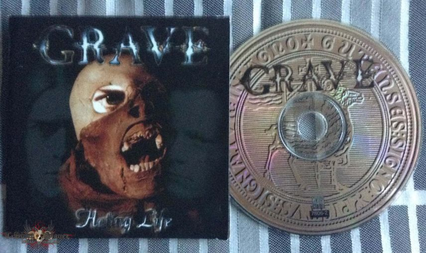 Grave 'Hating Life' CD