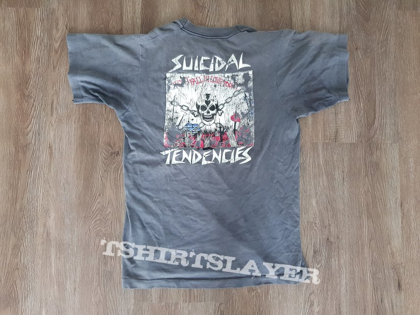 Vintage 1986 Suicidal Tendencies Wont Fall In Love Today Shirt