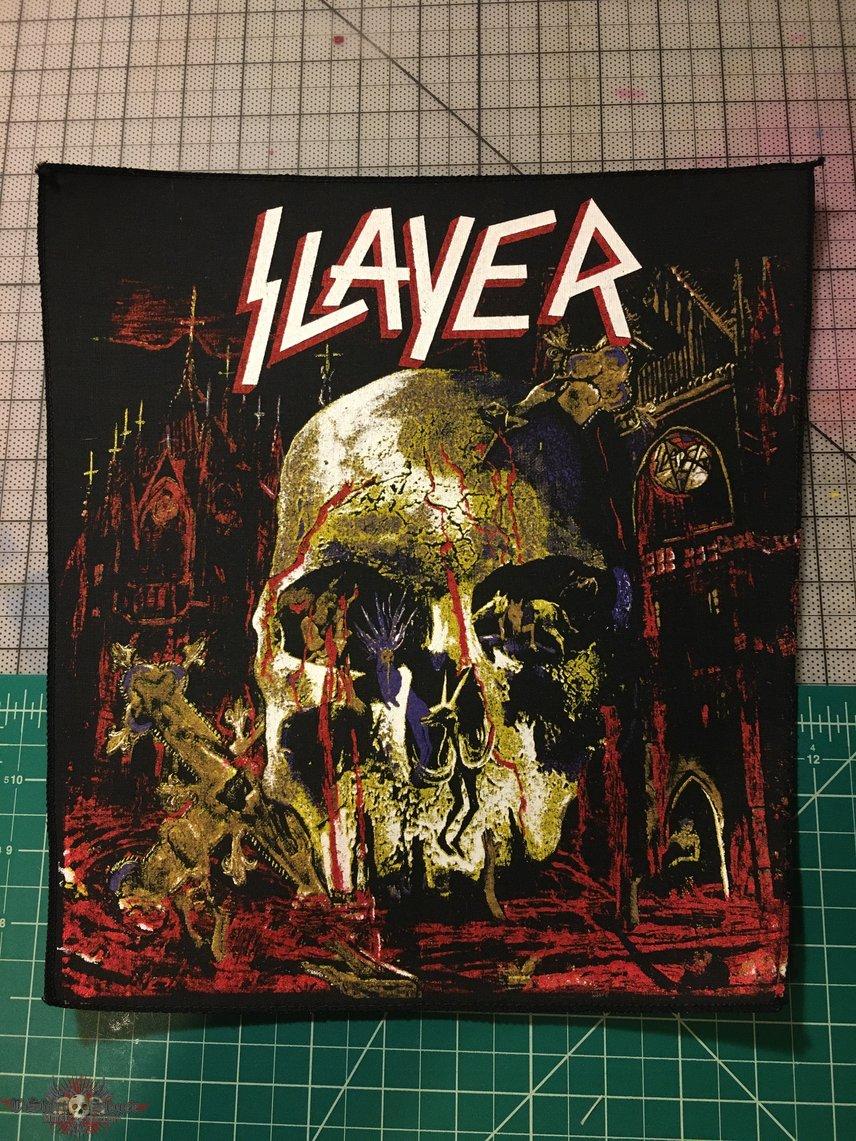 "Slayer ""South of Heaven"" back patch"