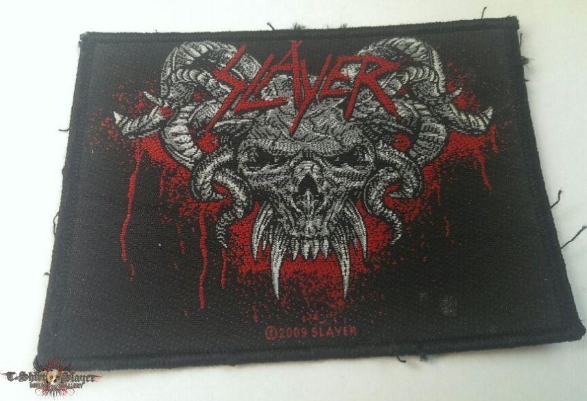 Slayer - Horned Skull Patch