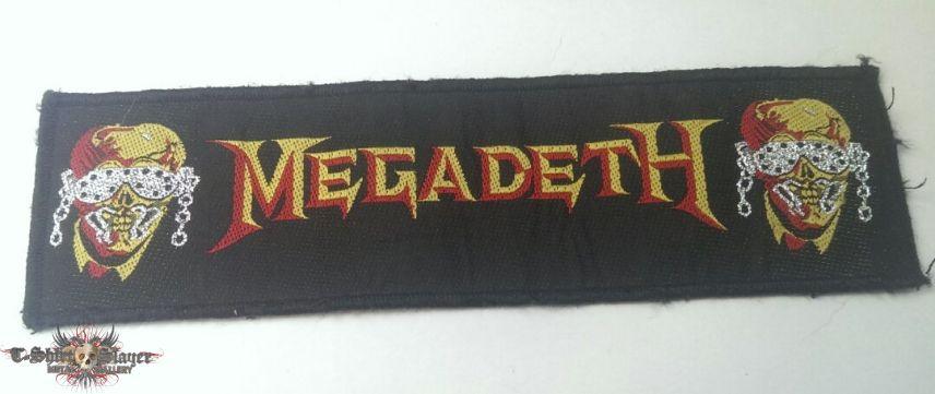 Megadeth - Logo and Vic Strip
