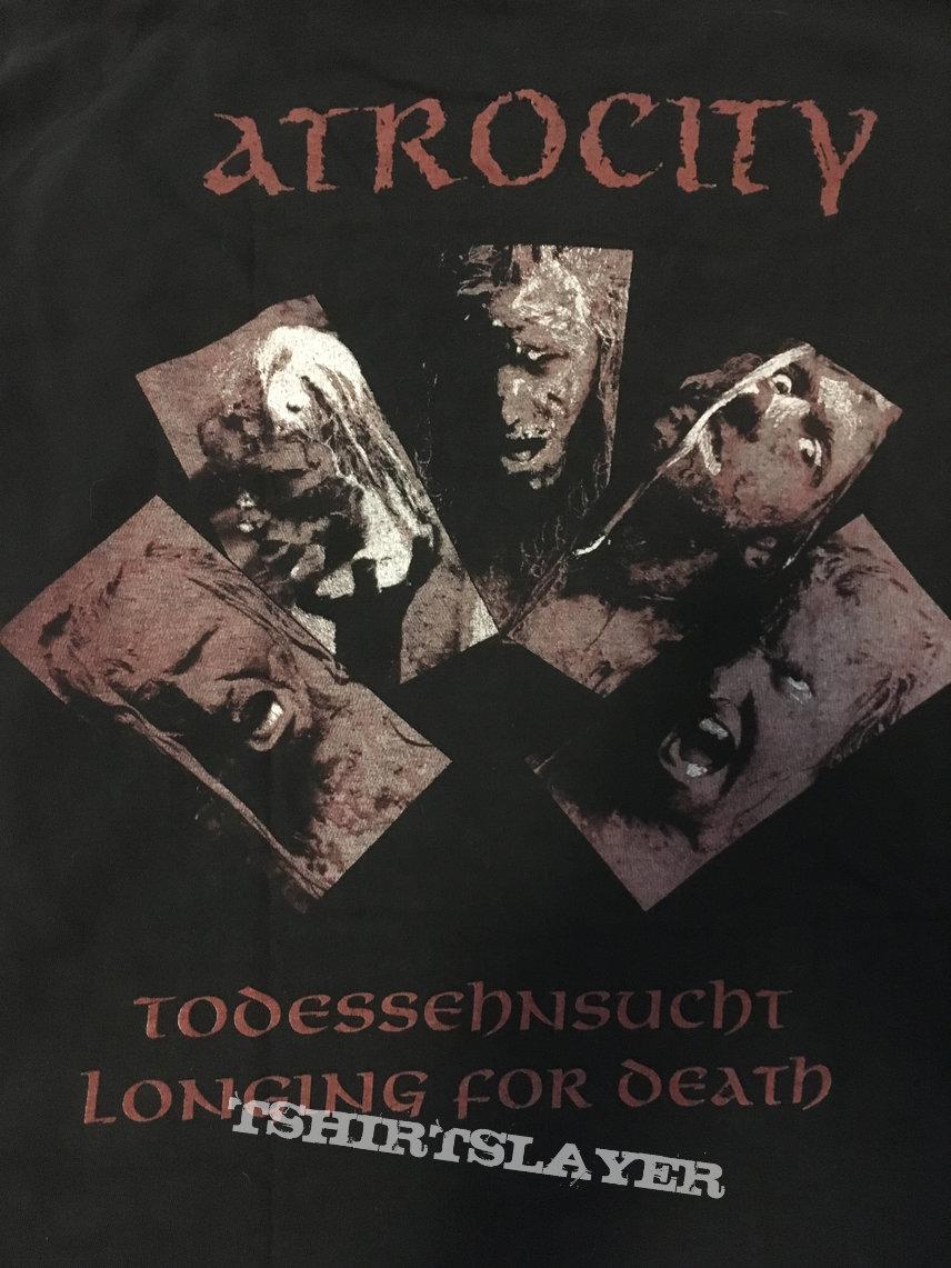 "Atrocity ""Todessehnsucht "" / ""Longing For Death"" Blue Grape Longsleeve 1992"