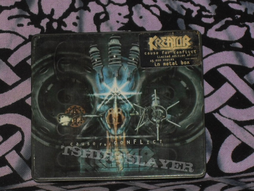 Kreator Cause For Conflict - Flag Of Hate