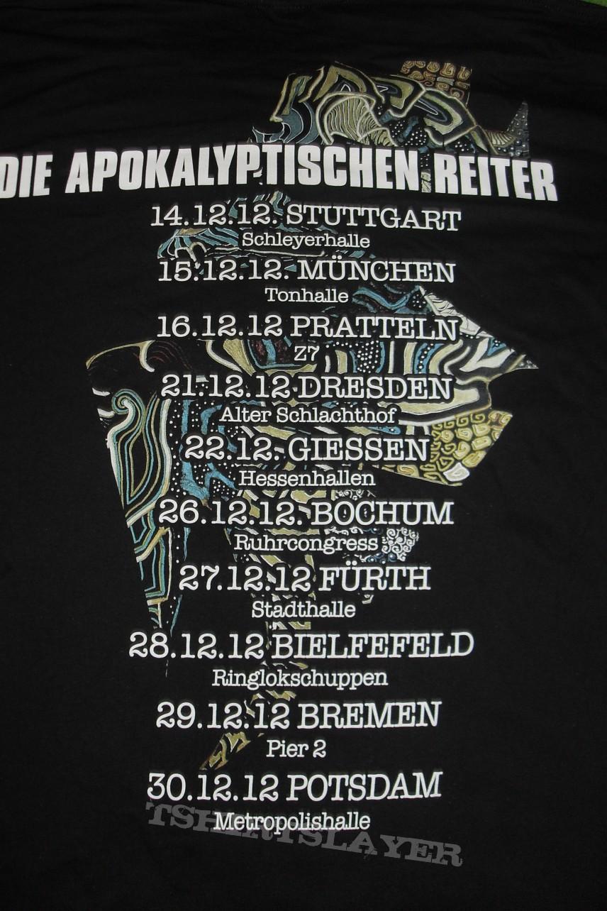 Die Apokalyptischen Reiter Tourshirt 2012