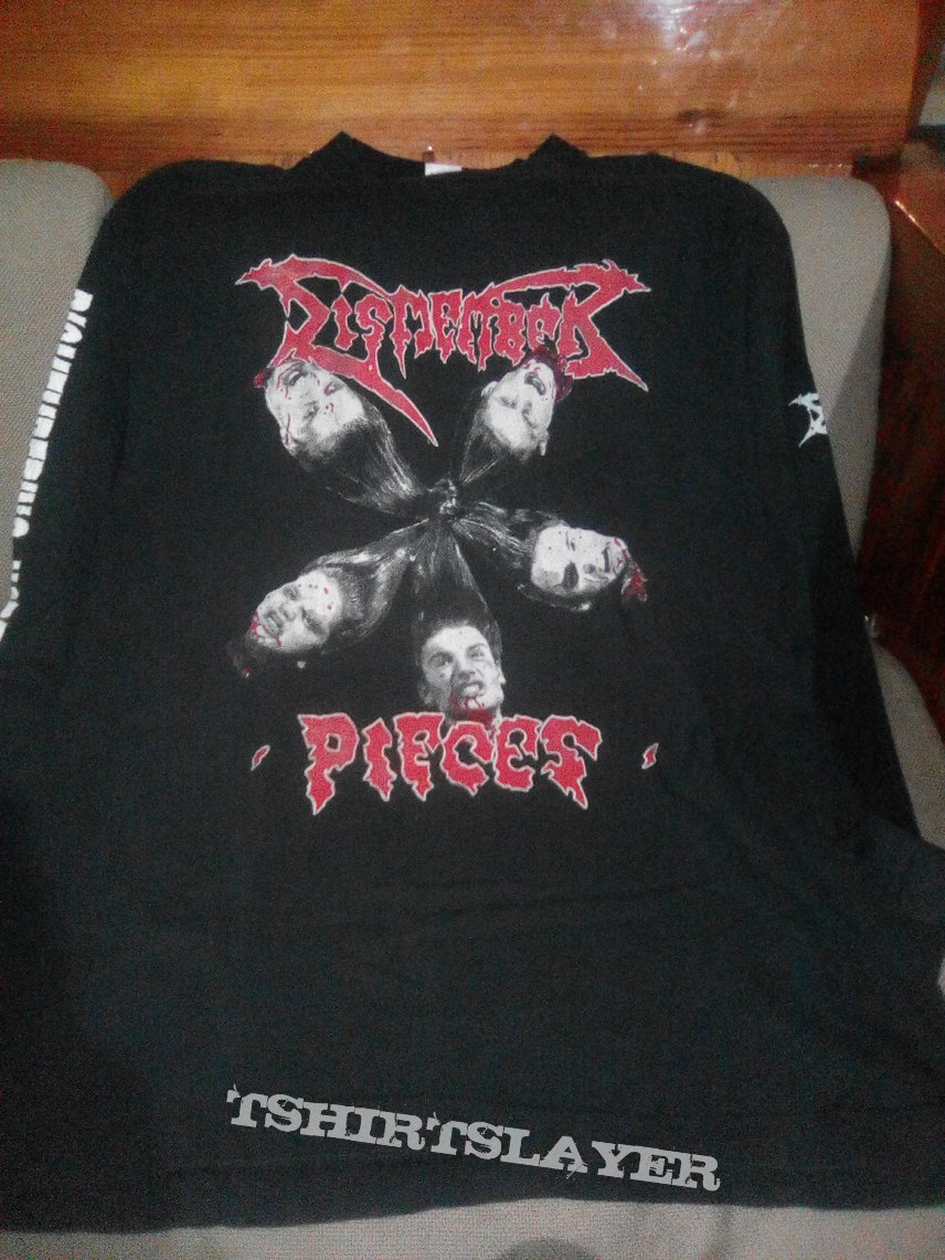 Dismember pieces original vintage long sleeve tshirt