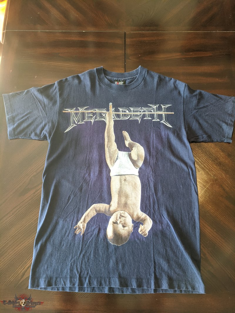 Megadeth 1994 Baby in Blue