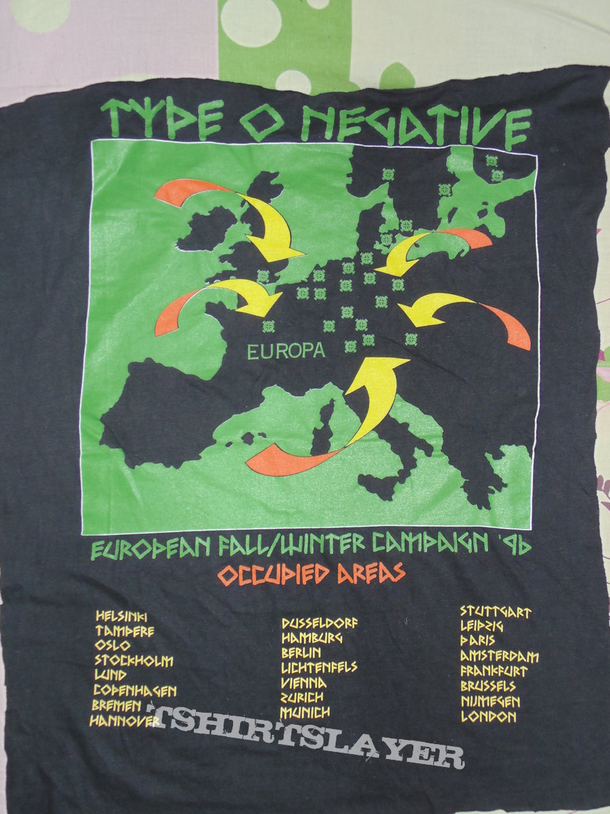 Type O Negative Tour 1996